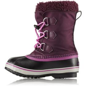 Sorel Yoot Pack Nylon Boots Kinder purple dahlia/foxglove